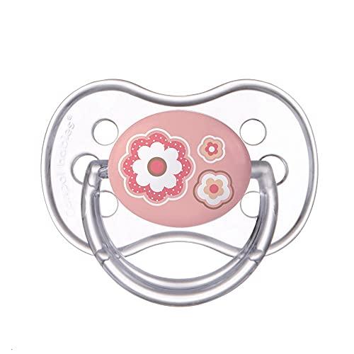 Canpol babies Kirschform Beruhigungssauger Silikon Rund (6-18 Monate)