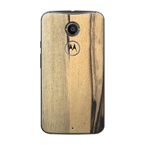 Cruzerlite Persimmon Schutzhülle für Motorola Moto X 2. Generation, Holzfolie, Einzelhandelsverpackung