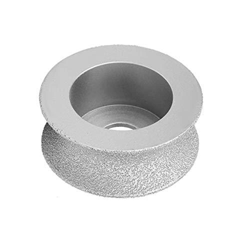 LITAO-XIE, LT-Discs, 1pc 7.3cm Gelötete Diamant-Schleifscheibe 1,0/1,5/2,0/2,5 cm Höhe Concave Schleifscheiben for den Stein Keramik Marmor Granit Beton (Größe : 2.5cm Height)