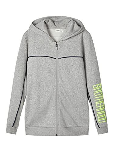 NAME IT Sweatjacke mit Neonfarbige Details 158-164