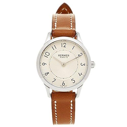 (エルメス) HERMES HERMES 時計 エルメス W041731WW00 CA2.110.220/VBA スリムドゥエルメスTPM レディース腕時計ウォッチ ブラウン/シルバー [並行輸入品]