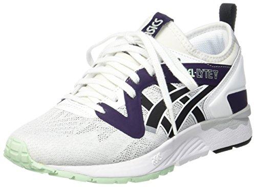 ASICS Herren Gel-Lyte V Sneakers, Elfenbein (White/Black), 39.5 EU