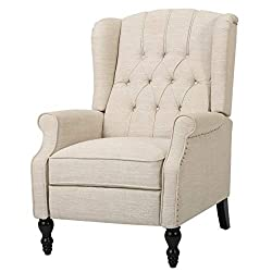 Elizabeth-Light-Beige-Tufted-Fabric-Arm-Chair-Recliner