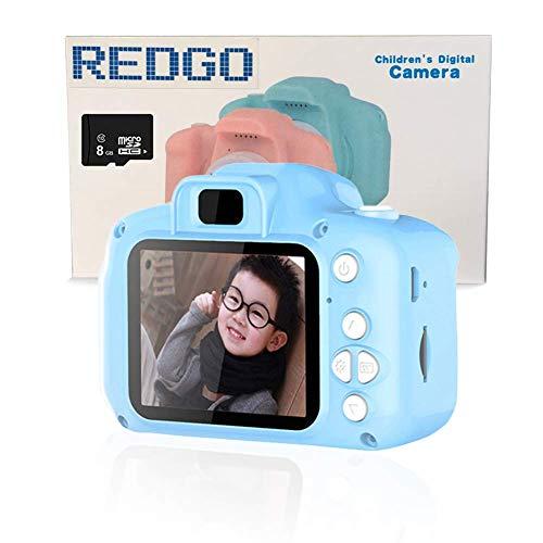 REDGO Mini Cámara de Fotos Digitales para Niños, 1080P HD