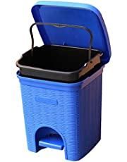 Signoraware Modern Lightweight Dustbin for Home and Office 12Ltr, Blue