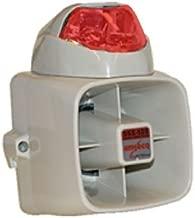 POTTER ELECTRIC SIGNAL SSX52SR 15w Siren/Strobe - Red