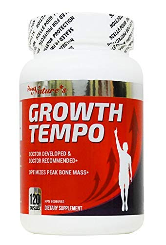 PNC Growth Tempo 120 caps - Optimizes Peak Bone Mass + - Bone Supplement - Enhance Bone Health Containing Growth Ingredients for Children/Teens and Various Vitamins and Calcium for Kids