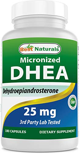 Best Naturals, Micronized DHEA 25 mg 180 Capsules