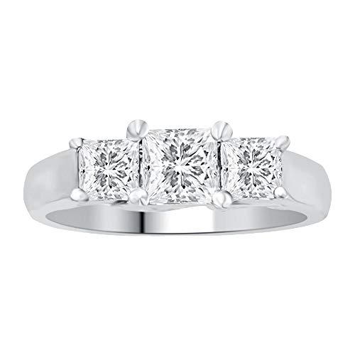 Stone Princess Diamond Ring