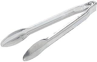Amscan 30 cm Large Serving Tongs, Silver