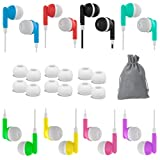 Headphones for Kids for School - 8 Pack Earbuds Wired Ear Buds Classroom Headphones Set Learning Earphones Student chromebook Bulk for Laptop iPhone Galaxy Gym Computer PL 3.5 Jack