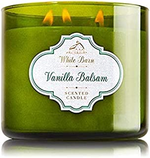 Bath and body works White Barn Vanilla Balsam Scented Candle 411 g