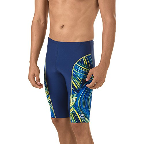 Speedo Men's Swimsuit Jammer Endurance+ Turbo Stroke - Manufacturer Discontinued