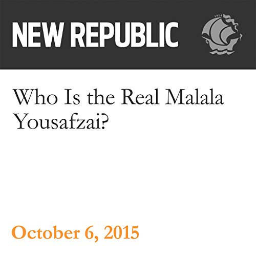 Who Is the Real Malala Yousafzai? audiobook cover art