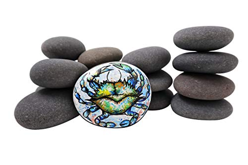 15 Painting Rocks by Basalt Canvas - 15 Stones Ranging from 3.0 to 4.5 inches