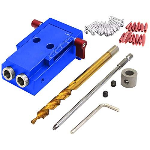 Kit de herramientas de trabajo de madera con caja para herramientas de trabajo y carpintería de estilo mini