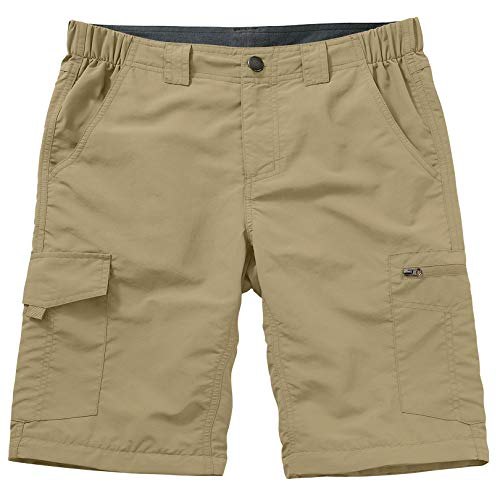 Hiking Shorts for Men Cargo Casual Quick Dry Lightweight Stretch Waist Outdoor Fishing Travel Shorts (6228 Khaki 34)