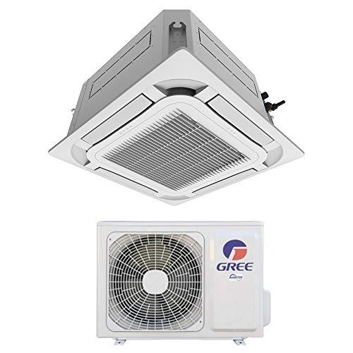 Climatizzatore mono a cassetta 8 vie Gree 30000 Btu R32 - telecomando e pannello inclusi