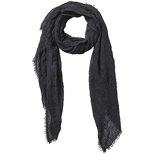 Tickled Pink Women's Lightweight Summer Insect Shield Scarf, Classic Black, One Size