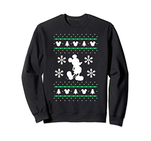 Disney Mickey Mouse Christmas Sweater Sweatshirt