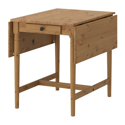 IKEA INGATORP klaptafel antieke beits - 59/88/117x78 cm