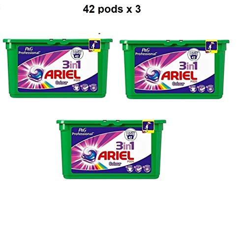 Ariel Professional 3in1 Pods Colorwaschmittel 126 Wäschen (3 x 42)