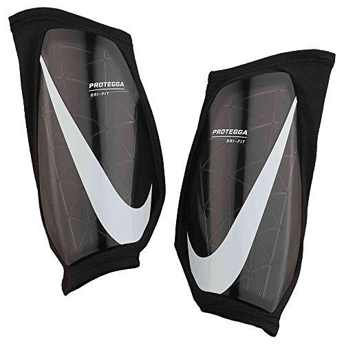 Nike Unisex-Erwachsene Protegga Schienbeinschoner, Black/Black/White, M