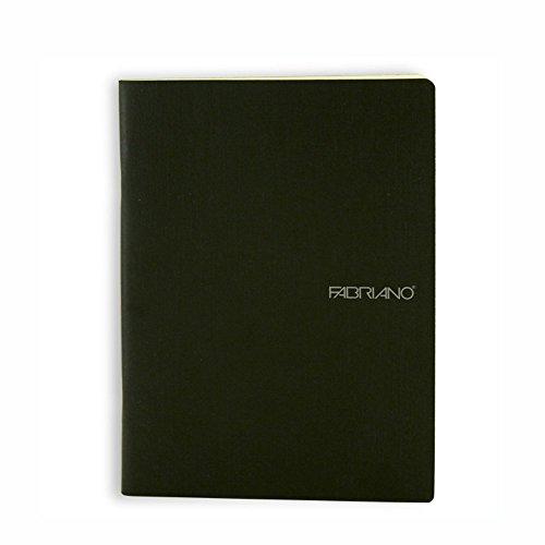 Ecoqua Blank Notebook 5.8X8.25 Black