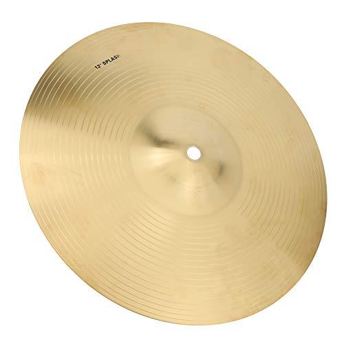 12 Zoll Crash Becken Becken HiHat Durable Brass Cymbal Musikinstrument Zubehör für Drum Set
