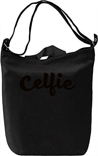 Selfie t-shirt Borsa Giornaliera Canvas Canvas Day Bag| 100% Premium Cotton Canvas| DTG Printing|