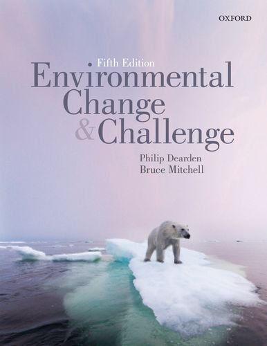 Environmental Change and Challenge A Canadian Perspective
