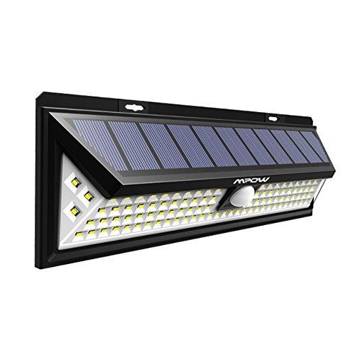 Mpow Luce Solare con 102 LED, Luce da Parete Luminosa, 3...