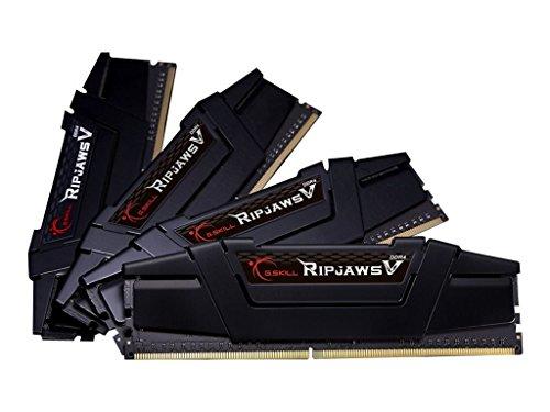 64GB-Kit G.Skill RipJaws V schwarz, DDR4-3200, CL16-18-18-38