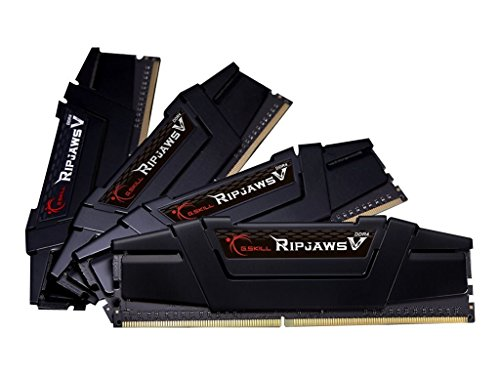 64GB-Kit G.Skill RipJaws V schwarz, DDR4-3200, CL16-18-18-38