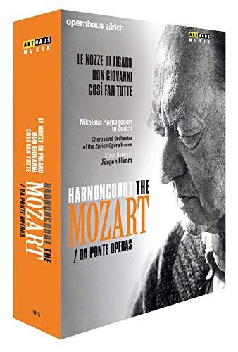 Harnoncourt: Mozart / da Ponte Operas - Nikolaus Harnoncourt in Zürich [6 DVDs]