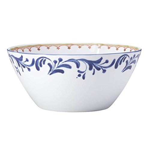 Dansk 865456 Northern Indigo Salad Serving Bowl, Porcelain, Multicoloured