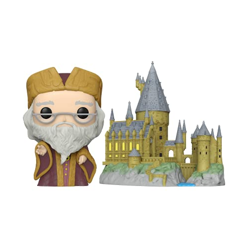 Funko Pop! Town: Harry Potter 20th Anniversary - Dumbledore with Hogwarts