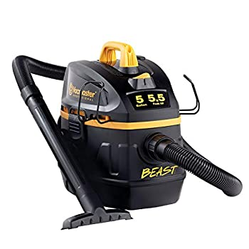 Vacmaster Professional - Professional Wet/Dry Vac 5 Gallon Beast Series 5.5 HP 1-7/8  Hose Jobsite Vac  VFB511B0201  Black