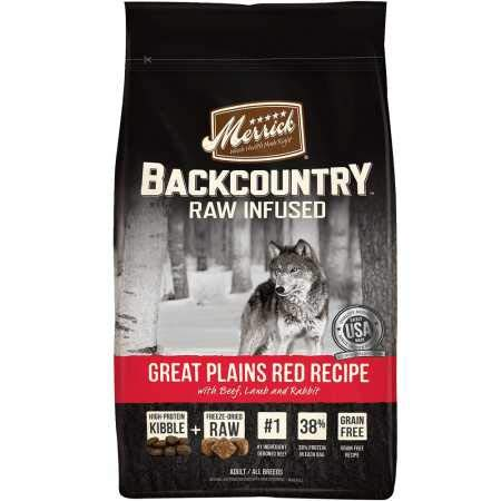 Merrick Backcountry Great Plains Red Recipe...