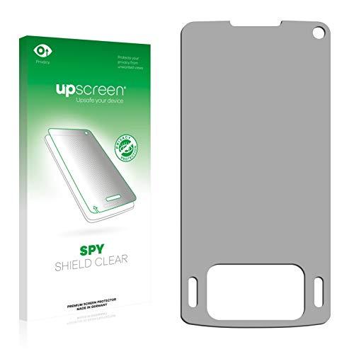 upscreen Anti-Spy Blickschutzfolie kompatibel mit Samsung SGH-G800 Privacy Screen Sichtschutz Bildschirmschutz-Folie