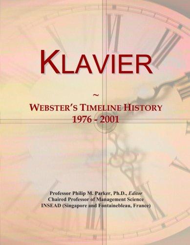 Klavier: Webster's Timeline History, 1976 - 2001