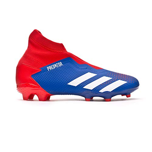adidas Predator 20.3 LL FG, Bota de fútbol, Team Royal Blue-White-Active Red