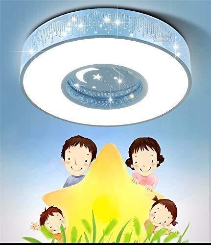Famille Utilitaire tafellamp voor slaapkamer, plafondlamp, LED-lamp, warm, creatief, minimalistisch, 60 cm, 3 boxen, blauw, solide T-D