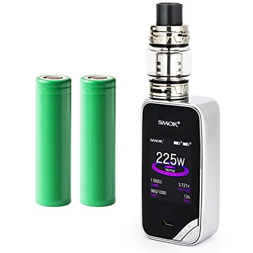 Smok X-Priv Kit inkl. TFV12 Prince (8ml) 5000 mAh E-Zigaretten-Set E-Zigarette Starterset (nikotinfrei) (chrom)