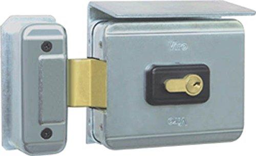 Elektroschloss V90 - Drehverschluss - Öffnung nach außen für Tore und Tore 70 mm Viro
