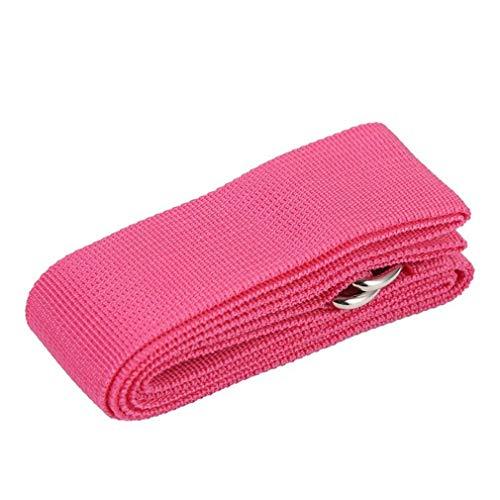HehiFRlark - 1 cinta elástica de algodón puro para yoga, color aleatorio