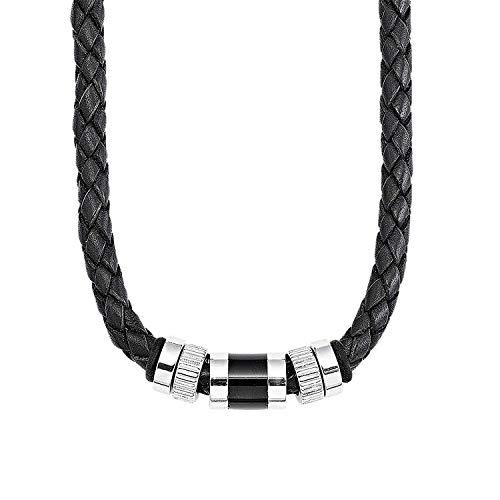 s.Oliver Halskette für Herren, aus Edelstahl