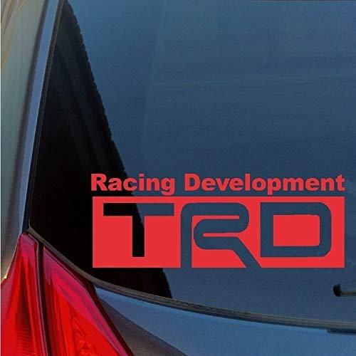 TRD Racing Development Vinyl Stickers for Toyota JDM Scion tC FRS Lexus IS250