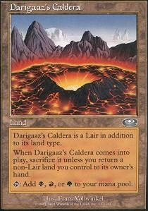 Magic: the Gathering - Darigaaz's Caldera - Planeshift - Foil