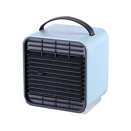 99native Portable Air Cooler, Mini Mobile Klimaanlage Luftkühler, 3 in 1 Luftbefeuchter und Luftreiniger, Tragbare Klimaanlage Luftkühler für Zuhause, drinnen, Küche, im Freien (Blau)